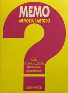 MeMo Memoria e Metodo