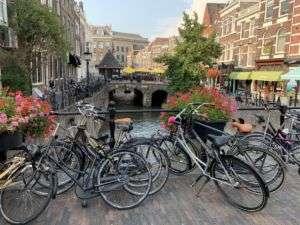 Biciclette canale Amsterdam